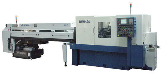 Shimada B6 Series Cam-Less 6-Spindle Automatic Bar Machine